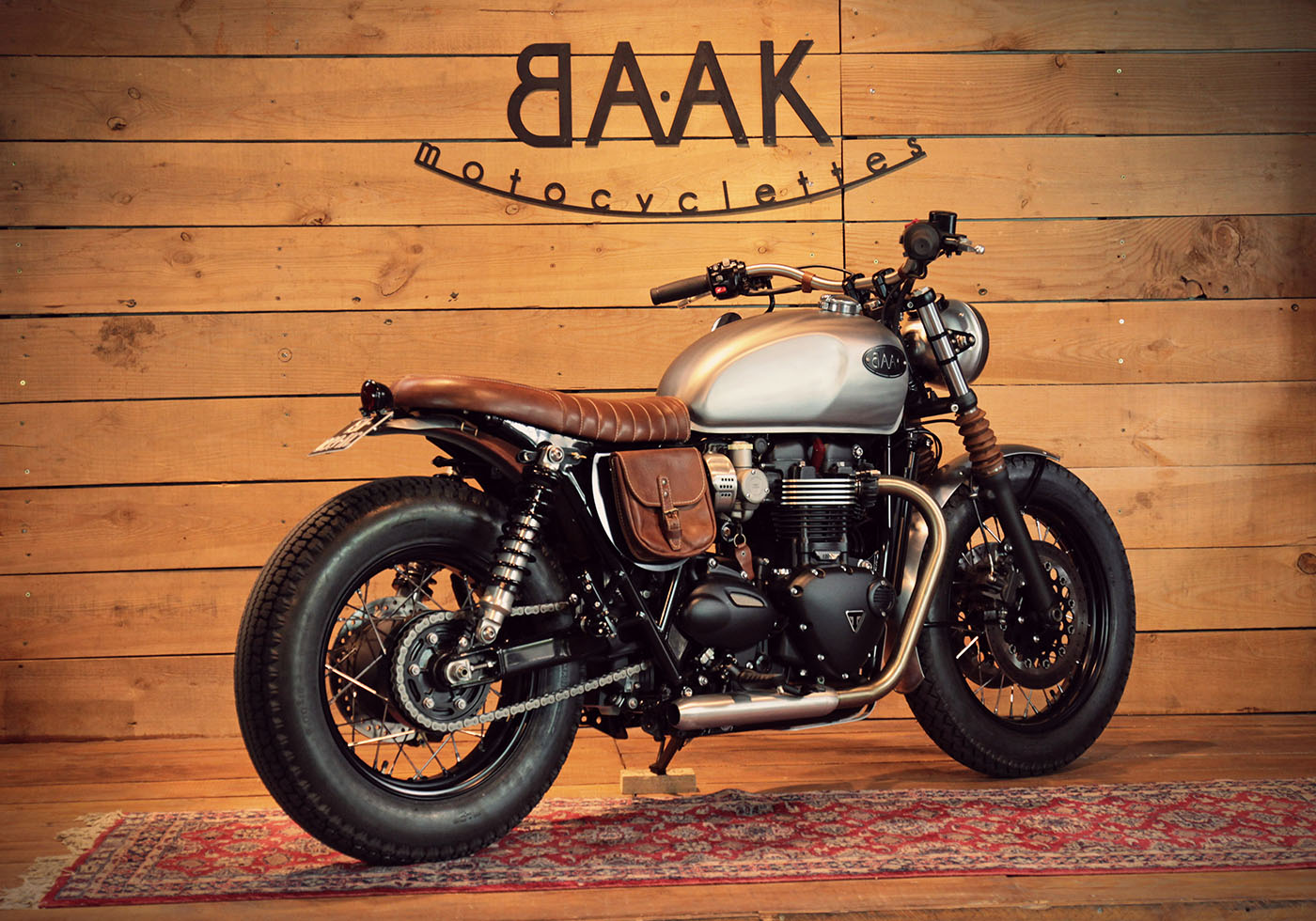 The Backdating Triumph Bonneville T120 Created For Thierry