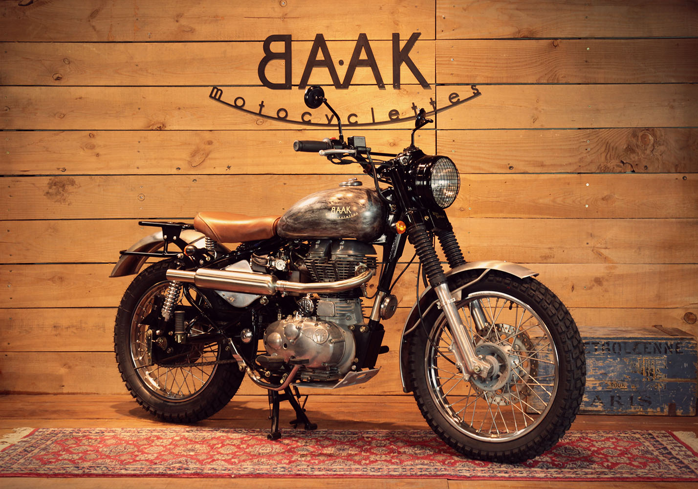 A Scrambler To Fill A Desire Of Freedom Baak Motorcycles Blog